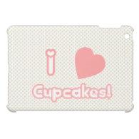 I Heart Cupcakes {Mini iPad Case} Case For The iPad Mini