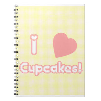 I Heart Cupcakes! Notebook