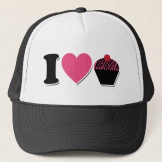 I Heart Cupcakes Trucker Hat