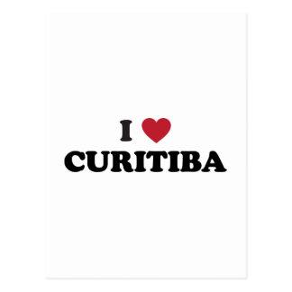 I Heart Curitiba Brazil Postcard