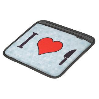I Heart Cutting iPad Sleeve