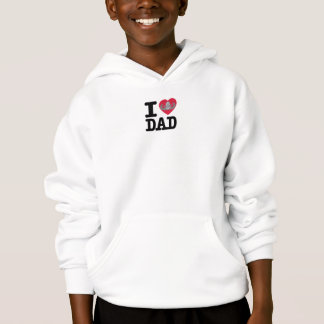 I heart Dad - Senior Crab Hoodie