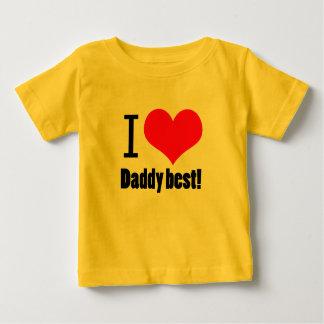 I heart Daddy best design T Shirt