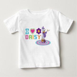I Heart Daisy Duck Baby T-Shirt