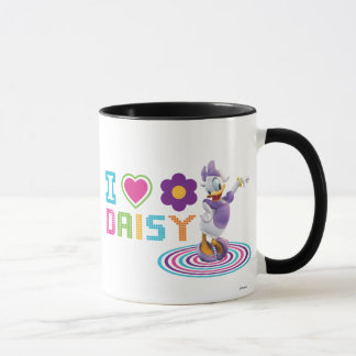 I Heart Daisy Duck Mug