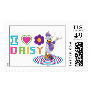 I Heart Daisy Duck Postage Stamps