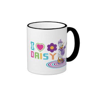 I Heart Daisy Duck Ringer Mug