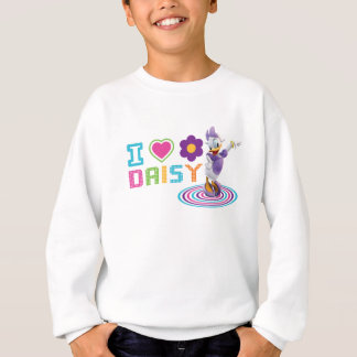 I Heart Daisy Duck Sweatshirt