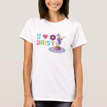 Disney Themed I Heart Daisy Duck T-Shirt