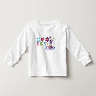 Valentines Themed I Heart Daisy Duck Toddler T-shirt