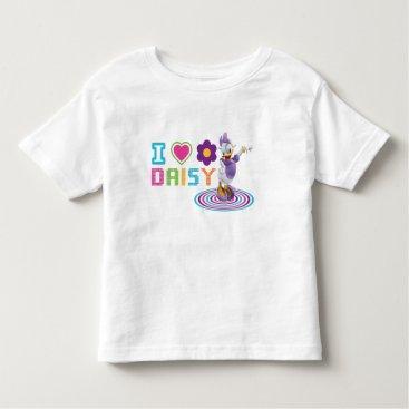 Disney Themed I Heart Daisy Duck Toddler T-shirt