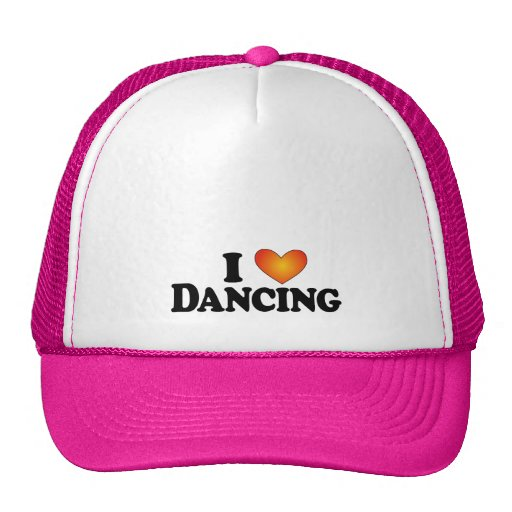 I (heart) Dancing - Lite Multi-Product T-Shirt Mesh Hats