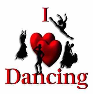 I Heart Dancing Photo Cut Outs