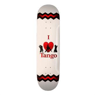I Heart Dancing Tango Skateboard