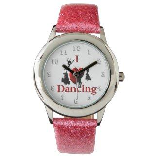 I Heart Dancing Wristwatch