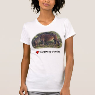 I heart Dartmoor Ponies Tee Shirt