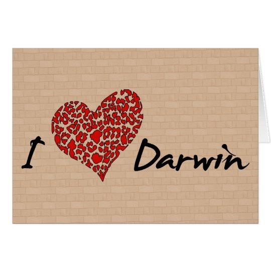 I Heart Darwin Card