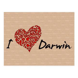 I Heart Darwin Postcard