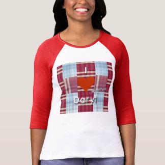 I heart Daryl w/ crossbow wings & plaid 2-sided Tshirts