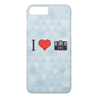 I Heart Data Storages iPhone 7 Plus Case