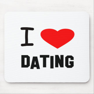 I Heart dating Mouse Pads