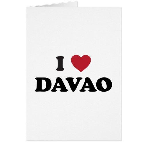 I Heart Davao City Greeting Cards