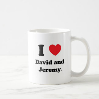 I Heart David and Jeremy Mug