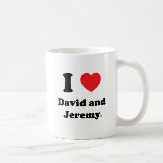 I Heart David and Jeremy Mug