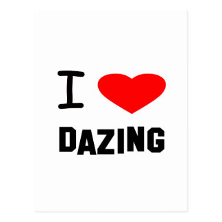 I Heart dazing Post Cards