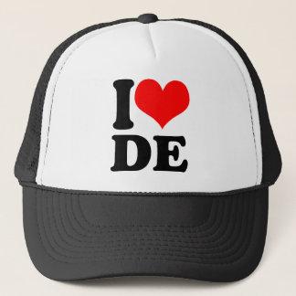 i Heart DE Trucker Hat