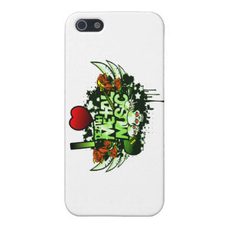 I Heart Death Metal Cover For iPhone SE/5/5s