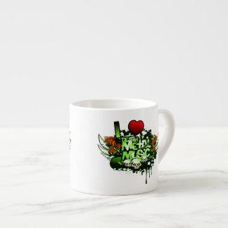 I Heart Death Metal Espresso Cup