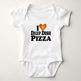 I (heart) Deep Dish Pizza - Lite Multi-Products Infant Creeper