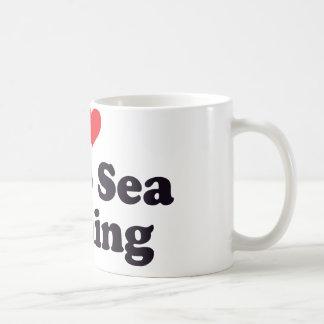 I Heart Deep Sea Fishing Coffee Mug