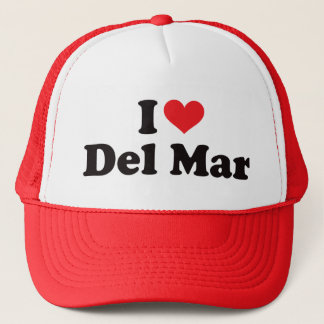 I Heart Del Mar Trucker Hat