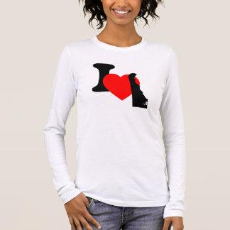 I Heart Delaware Long Sleeve T-Shirt