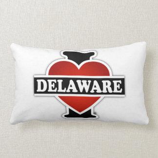 I Heart Delaware Lumbar Pillow