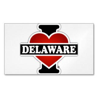 I Heart Delaware Magnetic Business Card