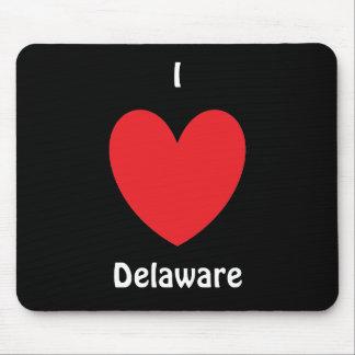 I Heart Delaware Mousepad