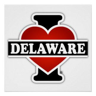 I Heart Delaware Poster