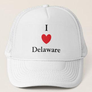 I Heart Delaware Trucker Hat