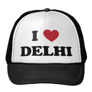 I Heart Delhi India Trucker Hat