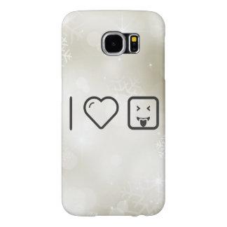I Heart Delight Emoticons Samsung Galaxy S6 Cases