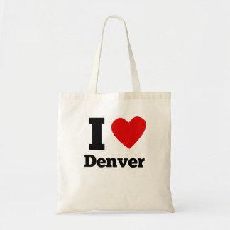 I Heart Denver Budget Tote Bag