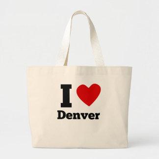 I Heart Denver Jumbo Tote Bag