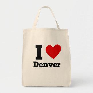 I Heart Denver Grocery Tote Bag