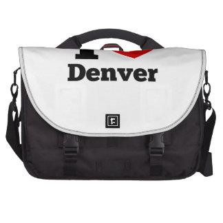 I Heart Denver Bag For Laptop