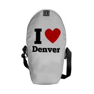 I Heart Denver Messenger Bags