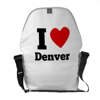 I Heart Denver Courier Bags