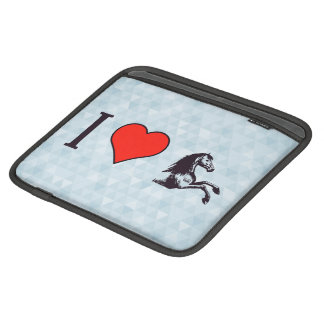 I Heart Derby Races iPad Sleeve